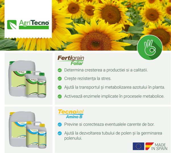 #fertigrainfoliar Foliar biostimulant based on amino acids containing all essential microelements formulated specifically for extensive cultures. #TecnokelaminoB Prevention and correction of boron def…
